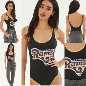 NFL swim   LA Rams body suit